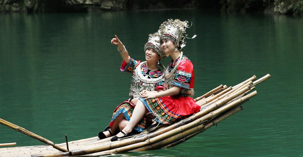國家5A級旅遊景區——阿依河