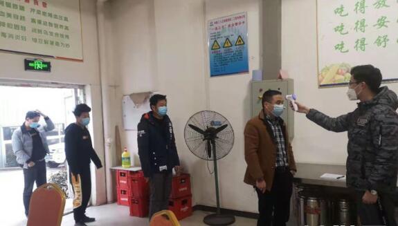 合川:合安高速項目部落實復工防疫工作