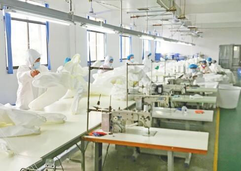 內衣廠變身防護服加工廠 全力支援一線疫情防控