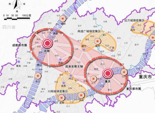 成渝地區雙城經濟圈,這些動作也太快了吧!