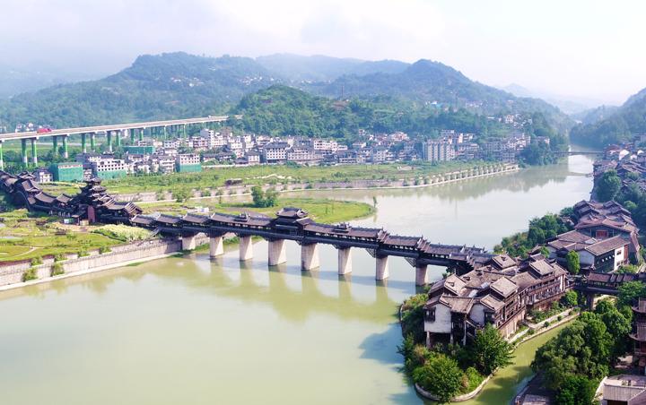 重慶黔江:峽谷中的水墨丹青