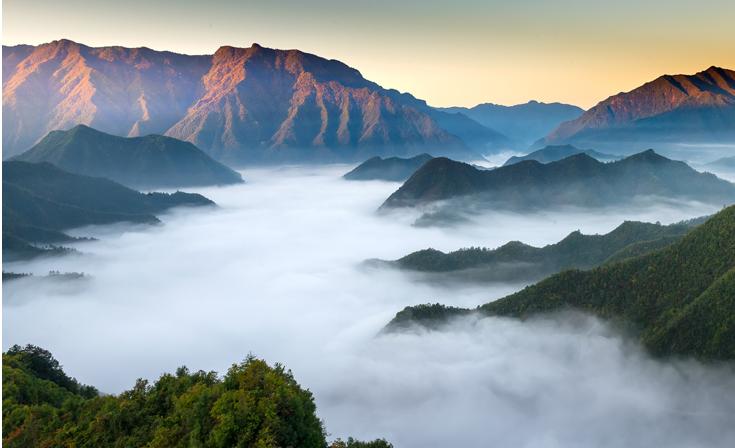 重慶城口:尋找那奇俊清幽的山水田園景