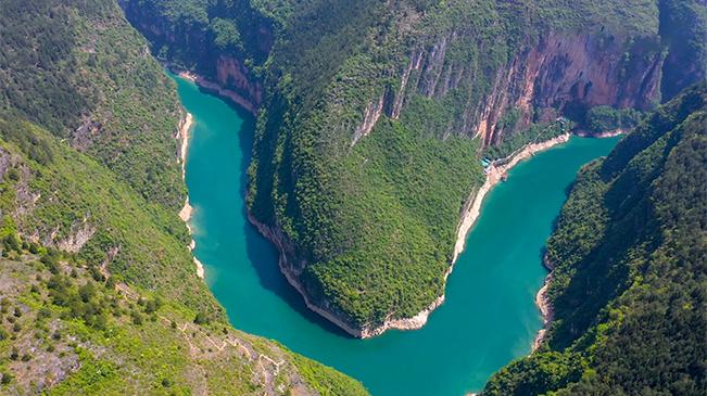 【飛閱高峽平湖 】航拍三峽175水位新景觀 五湖碧波通大昌