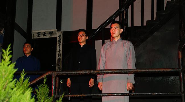 實景演藝《歌樂忠魂》在渣滓洞內首演 再現革命烈士錚錚誓言