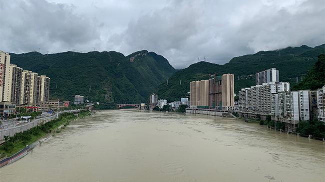 192米!烏江武隆段水位猛漲 逼近警戒水位