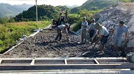 酉陽縣車田鄉:基礎設施夯實脫貧基礎