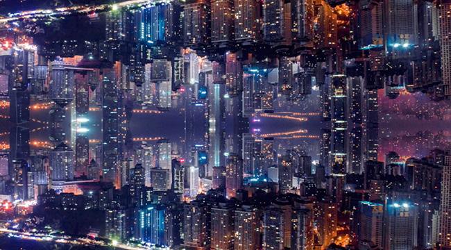 """創意短視頻:把你的城市""""折疊""""起來有多震撼"""
