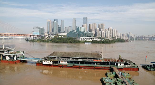 長江2020年第4號洪水今日將過境重慶主城