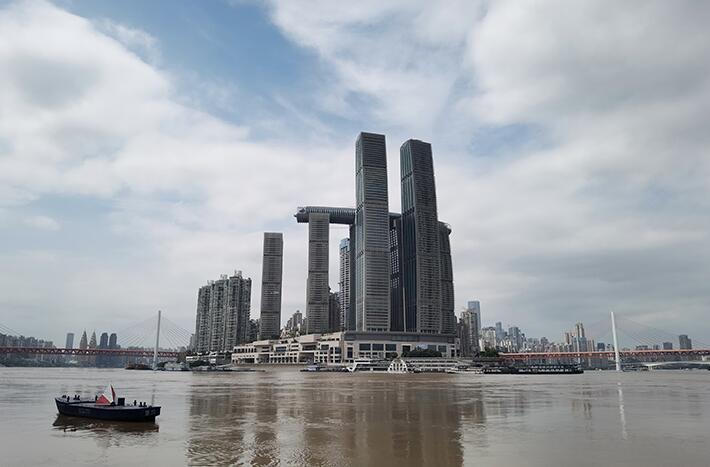 重慶進入緊急防汛期 在多個關鍵位置設立現場指揮部駐防調度
