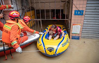 重慶:洪水致26.32萬人受災 暫未有人員死亡