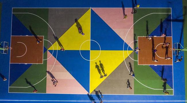 重慶北碚:老場館變身體育運動公園