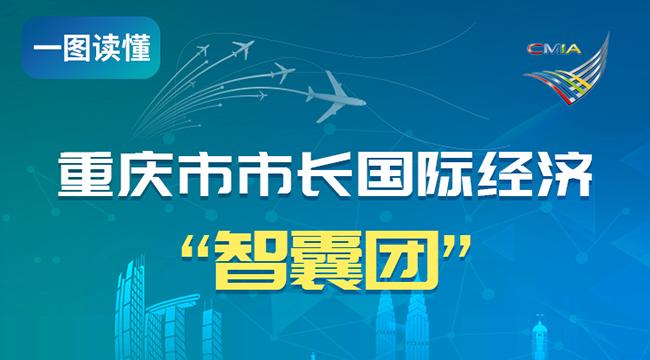 """一圖讀懂重慶市市長國際經濟""""智囊團"""""""