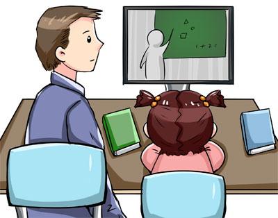 """和孩子一起""""注冊"""":按學期生活的父母"""