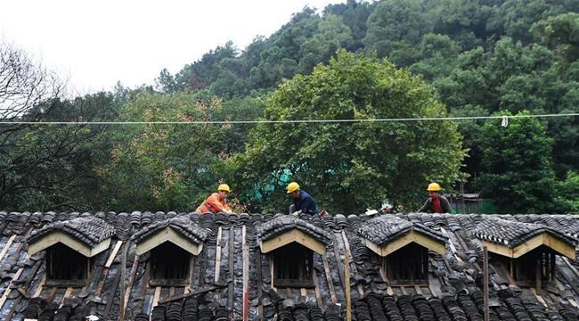 重慶渣滓洞舊址保護修繕工程有序推進