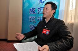 重庆市人大代表郑清术接受本网专访
