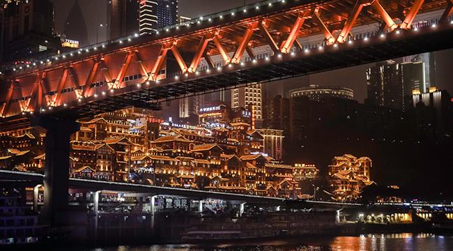 夜游两江 赏兴发娱乐网页版登录夜景流光溢彩之美